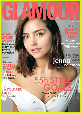 Jenna Coleman's Friends Might Disown Her If She Called Them A 'Girl Squad'