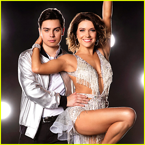 Jake T. Austin & Jenna Johnson Cha Cha For DWTS Season 23 Week Two