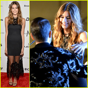 Kaia Gerber Honored with Female Model of the Year at Daily Front Row Awards!