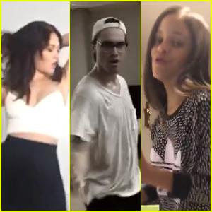 Kelli Berglund, Ryan McCartan & More Take The Diabetes Dance Dare - Watch Now!