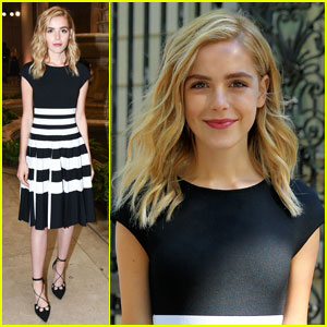 Kiernan Shipka is a Carolina Herrera NYFW Beauty!