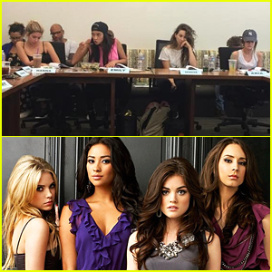 'Pretty Little Liars' Cast Assembles For Second To Last Table Read