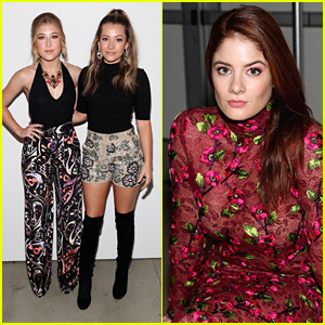 Maddie & Tae Hit Georgine Show at NYFW with Emily Tremaine