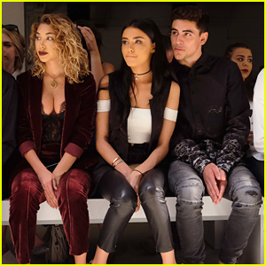 Madison Beer & Jack Gilinsky Couple Up For Erin Fetherston's NYFW Runway Show
