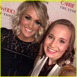 Final Five Gymnast Madison Kocian Meets Carrie Underwood!