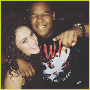 Madison Pettis & Kyle Massey Have 'Cory in The House' Reunion