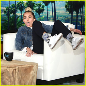 Miley Cyrus is Filling in as Host of 'The Ellen Show'!