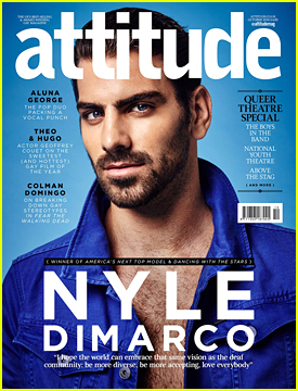 Reigning Champ Nyle DiMarco Talks 'Dancing With The Stars' With 'Attitude' Mag