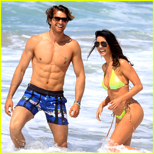 Bold & The Beautiful's Pierson Fode & Jacqueline MacInnes Wood Have a Beach Day in Venice