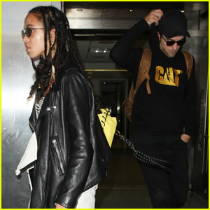 Robert Pattinson & FKA Twigs Step Out For Rare Public Appearance