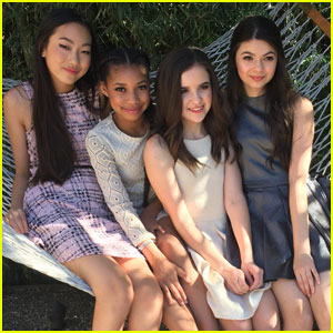 Francesca Capaldi, Madison Hu, & More Star in 'Sally Miller' Collection Shoot - BTS Pics!