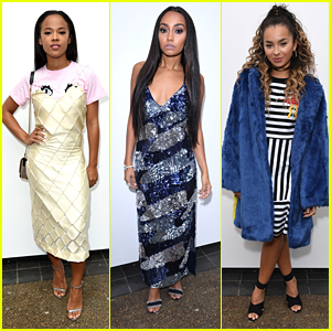 Serayah Steps Out For London Fashion Week with Leigh-Anne Pinnock