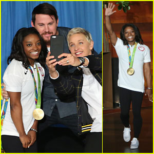 Simone Biles Says Zac Efron is 'Even More Perfect in Person'!