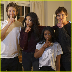 Olympian Simone Biles Meets the 'PLL' Cast!
