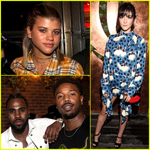 Sofia Richie Stops By Catch LA's Opening Night Party