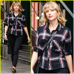 Taylor Swift Heads Out After Fun Dinner With Friends
