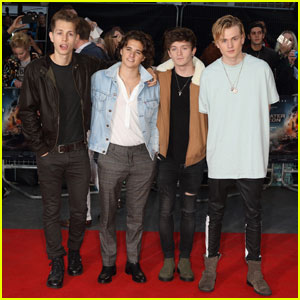The Vamps Look Super Hot at 'Deepwater Horizon' London Premiere