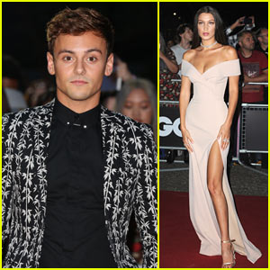 Tom Daley Rocks the Red Carpet as Bella Hadid Wins Model of the Year at GQ's Men of the Awards!