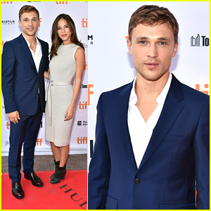 William Moseley Brings Girlfriend Kelsey Asbille To Toronto Film Festival 2016