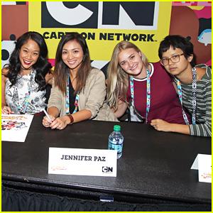 AJ Michalka & Shelby Rabara Hit 'Steven Universe' Panel at NYCC 2016
