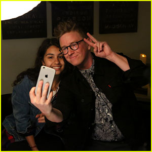 Tyler Oakley & Alessia Cara Play With a Ouija Board on 'The Tyler Oakley Show' - Watch Now