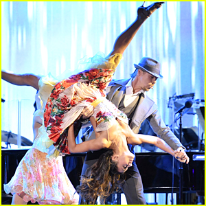 Derek Hough & Hayley Erbert Perform Together For MPTF's Night Under The Stars Anniversary Celebration