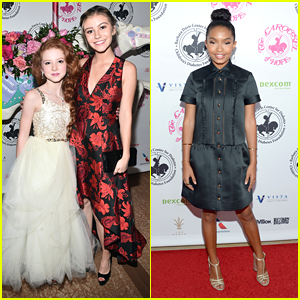 G Hannelius Joins Yara Shahidi at Carousel of Hope Ball 2016