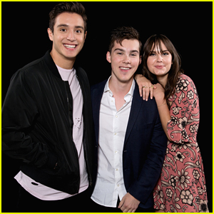 Gabriel Conte, Arden Rose, & Jeremy Shada Chat Up 'Mr. Student Body President' In NYC