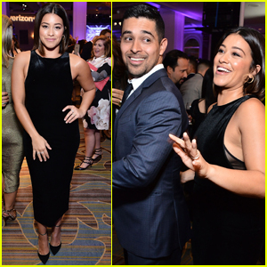 Gina Rodriguez & Wilmer Valderrama Step Out at Paley Tribute Event