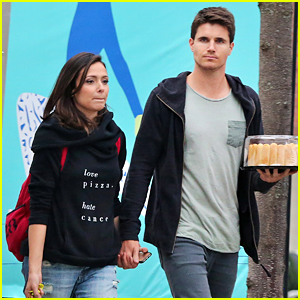 Italia Ricci Celebrates Her Birthday With Hubby Robbie Amell in Toronto