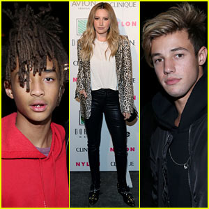 Jaden Smith, Cameron Dallas & Other Celebs Looked Sharp at Nylon Nights LA