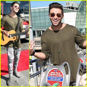 Jake Miller Gets His Own Personalized NYC Tour Bus!