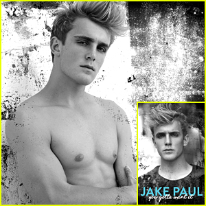 Jake Paul Is Completely Shirtless On The Back of His Book!