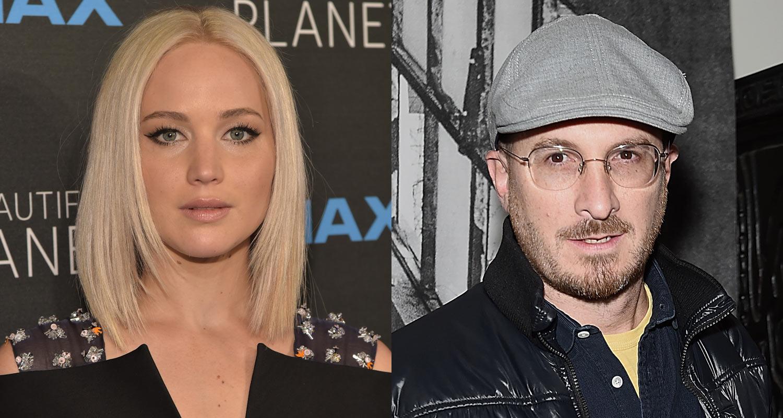 Jennifer Lawrence & Director Darren Aronofsky Are Reportedly Dating!   Darren  Aronofsky, Jennifer Lawrence   Just Jared Jr.