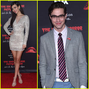 Victoria Justice & Ryan McCartan Premiere 'Rocky Horror Picture Show' in Hollywood!