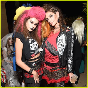 Kaia Gerber Goes Punk Rock For Halloween Party in LA