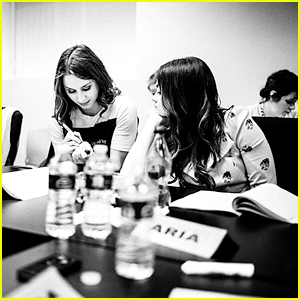Lucy Hale, Troian Bellisario & PLL Cast Share Last Table Read Images On Instagram