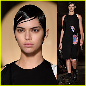 Kendall Jenner Walks Givenchy for Paris Fashion Week