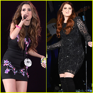 Laura Marano & Meghan Trainor hit CBS' We Can Survive Concert in Hollywood