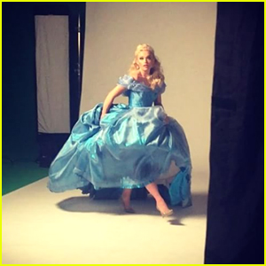 Lauren Taylor Shares First Look at 'A Cinderella Christmas'