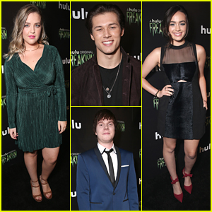 Leo Howard, Adam Hicks & Aislinn Paul Hit 'Freakish' Premiere in Hollywood