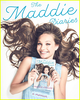 Maddie Ziegler Unveils Book Cover For Upcoming Memoir 'The Maddie Diaries'