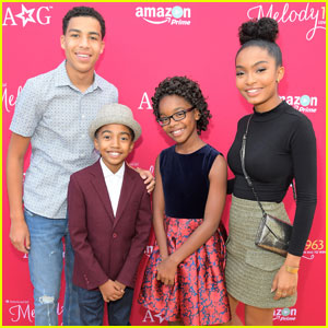 Marsai Martin Gets Support From 'Black-ish' Cast at 'American Girl Story' Premiere
