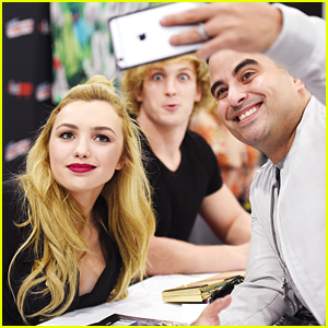 Logan Paul & Peyton List Promote 'The Thinning' at NYCC