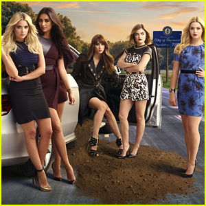 Lucy Hale & Troian Bellisario Say Goodbye To 'Fraturday' Filming on 'Pretty Little Liars'