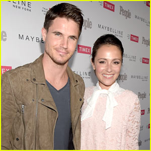 Robbie Amell & Italia Ricci Have Tied the Knot!