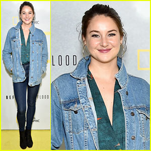 Shailene Woodley Continues to Fight for the Environment at 'Before the Flood' Screening