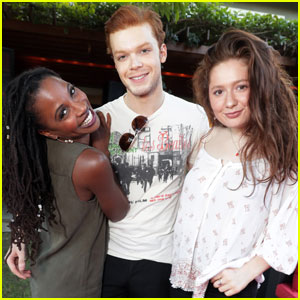 Emma Kenney & Cameron Monaghan Premiere 'Shameless' Season 7 in L.A.