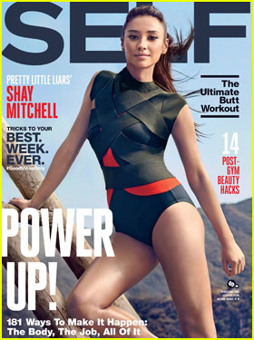 Shay Mitchell Reflects on 'PLL' Ending for 'Self' Magazine Cover Story