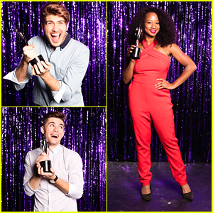 Joey Graceffa & Monique Coleman Step Out For Streamy Awards Nominee Reception; Partial Winners List Announced!